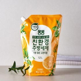 LG)퐁퐁친환경주방세제(오렌지)1.2L