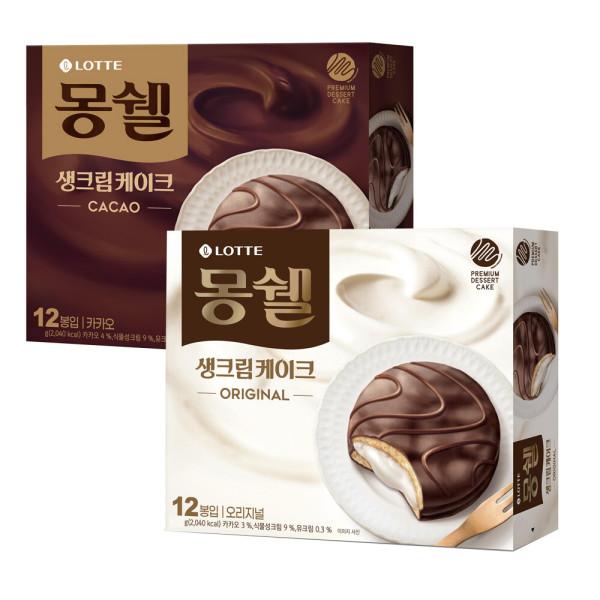 몽쉘크림(12봉)+카카오(12봉) 상품이미지