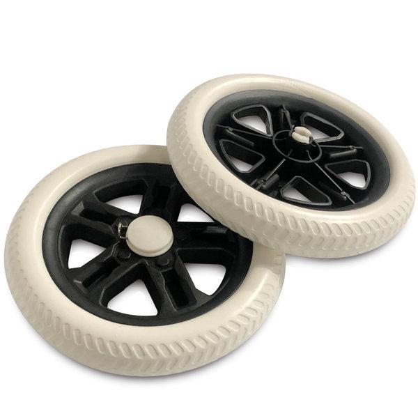 바퀴2P (점보19.5cm)시장가방 고무바퀴 캐리어 핸드카 상품이미지
