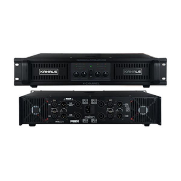 카날스/BK4-2400/전문가용 4채널 파워 앰프 시스템 상품이미지