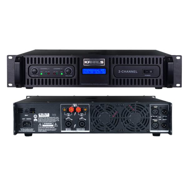 카날스/BKA-1600/전문가용 2채널 파워 앰프 시스템 상품이미지