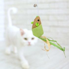 로얄펫 고양이 장난감 우드 낚시대 (마우스)