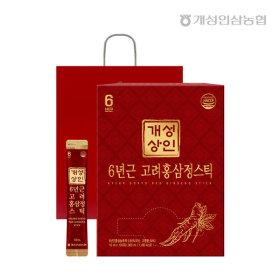 개성상인 6년근 고려홍삼정스틱 10ml 100포 / 실속형