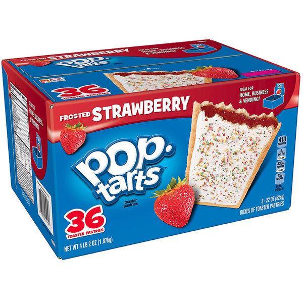 팝 타르트 Pop Tarts 딸기맛 36개 1.87 Kg 스트로베리 상품이미지