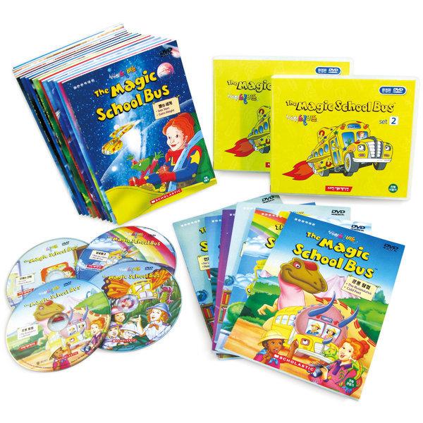 (도치맘) The Magic School Bus 매직 스쿨버스 DVD 26종 풀세트 (52개 에피소드) 상품이미지