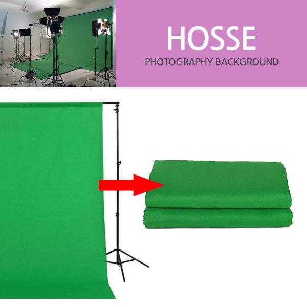 KOCHA 촬영배경지 크로마키 녹색 배경천 600x600cm 상품이미지
