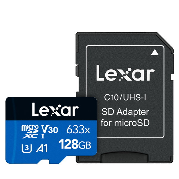 렉사 공식판매원 microSD카드 633배속 UHS- 급 128GB 상품이미지