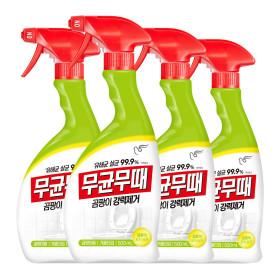피죤 무균무때 곰팡이 세정제 500ml4개  +사은품
