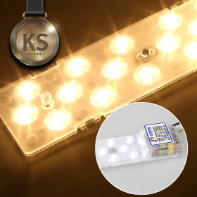 LED 형광등 방등 거실등 모듈 DY 일체형 25W_KS 전구색