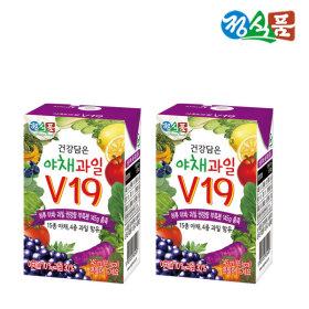 베지밀 건강담은 야채과일V19 145mlx24팩 신제품 음료