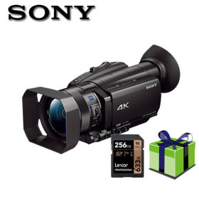 FDR-AX700 SONY 4K256G외8종증정 4K캠코더