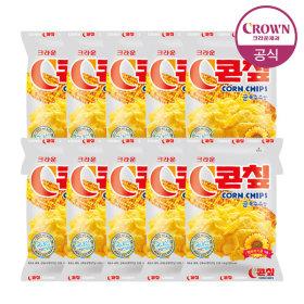 크라운 스몰 콘칲 10개 1박스