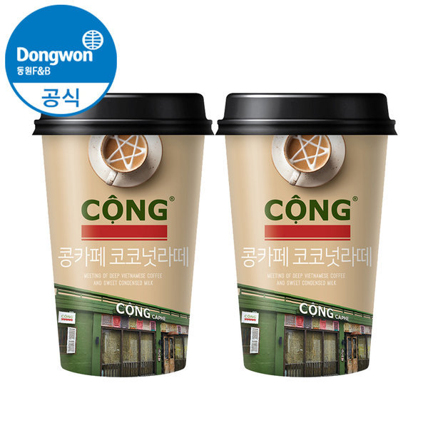 콩카페 코코넛라떼 250ml x24개 상품이미지
