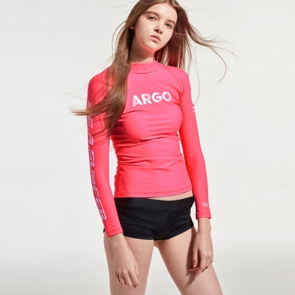 ARGO 여성 상하세트 BALBOA(PK) 래쉬가드 상품이미지