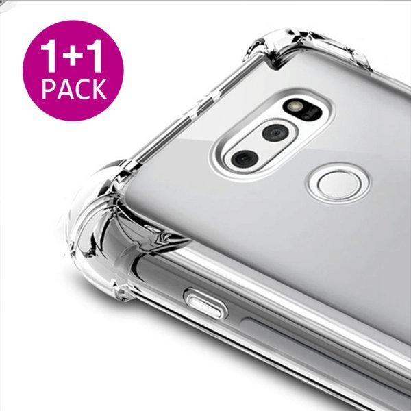 1+1이벤트 LG 투명 케이스 범퍼 젤리 실리콘 TPU 필름 상품이미지