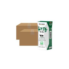 파스퇴르 유기농 우유 125mL 24입 X2 (48입)
