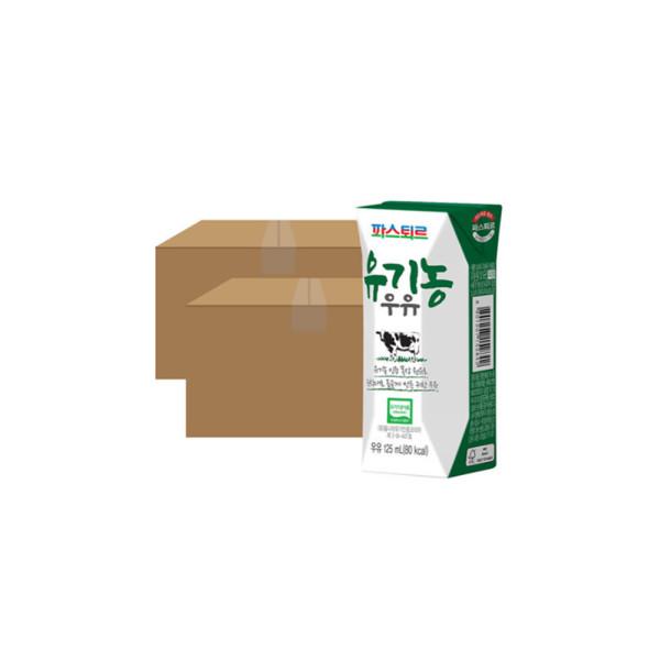 파스퇴르 유기농 우유 125mL 24입 X2 (48입) 상품이미지