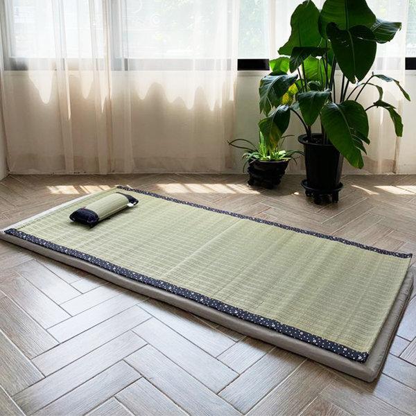 이케히코 자연소재 여름 대자리 대나무 돗자리 상품이미지