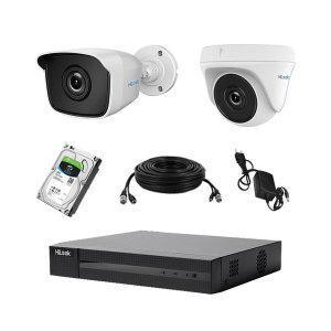 [HIKVISION]하이룩 400만화소 실내외CCTV감시카메라 자가설치세트