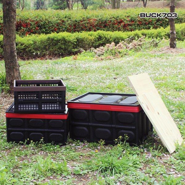 접이식 폴딩박스 대+상판 대/접이식수납박스/캠핑수납 상품이미지