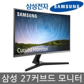 27 커브드 베젤리스 모니터/C27R502/AMD프리싱크/HDMI