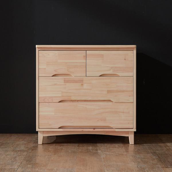 편백나무 숲 히노끼 3단 서랍장 DF640827 상품이미지