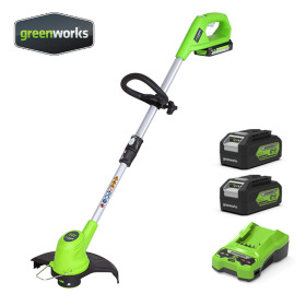 24V 전동 전기 충전 예초기 2팩 무선 제초 벌초 잔디