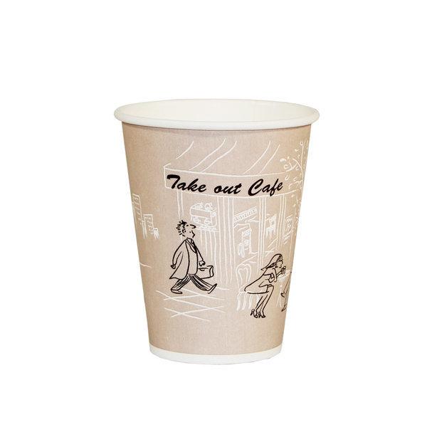 테이크아웃컵 50개/ 8온스(Hot)/커피 종이컵/천연펄프 상품이미지