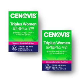 여성 트리플러스우먼 멀티비타민미네랄 90캡슐 x2개
