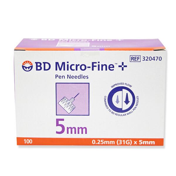 BD 마이크로파인 펜니들 31G 5mm 100개입 상품이미지
