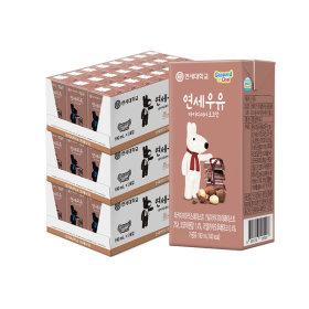 연세우유 멸균우유 마카다미아 초코우유 72팩