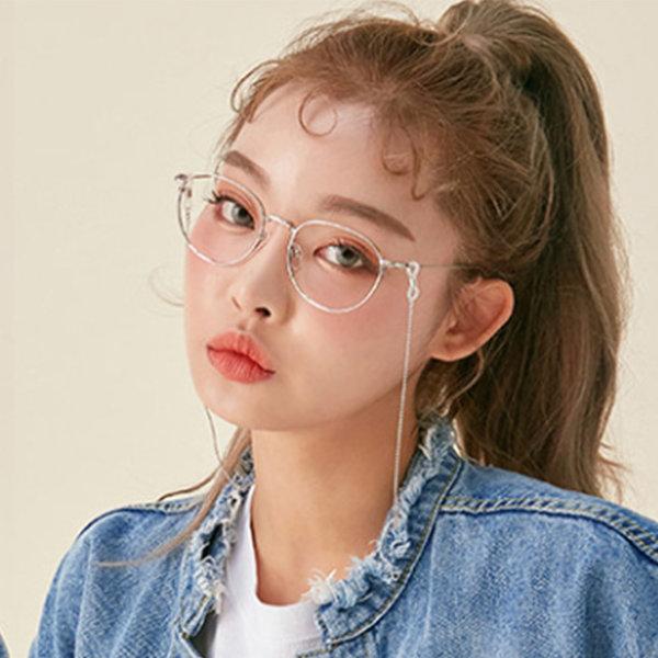 하연수 안경줄 선글라스줄 체인안경줄 안경끈 실버 상품이미지