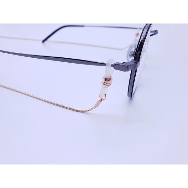 고급 안경줄 선글라스줄 체인안경줄 안경끈 로즈골드 상품이미지