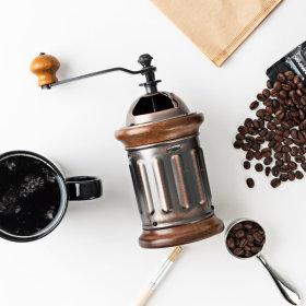 커피 그라인더 동 핸드밀 돔형 KC-3 청소솔증정