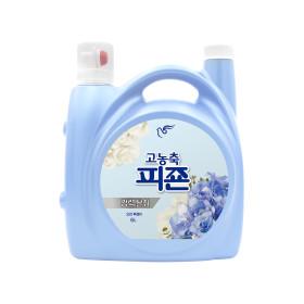 피죤 고농축 섬유유연제 6L 리치퍼퓸 블루비앙카