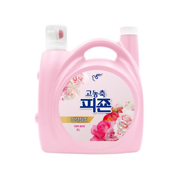 피죤 고농축 섬유유연제 리치퍼퓸 6L 핑크로즈 1개 상품이미지