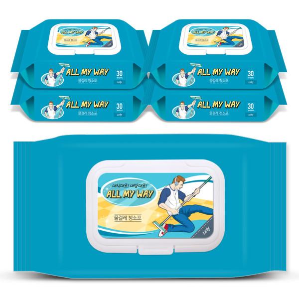 물걸레청소포 특대형 5팩(125매) 상품이미지