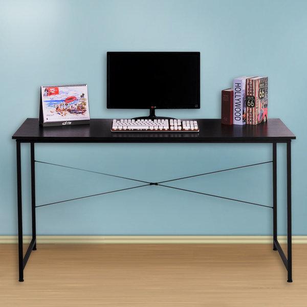 컴퓨터책상/책상/테이블/사무용책상/사무실 120 블랙 상품이미지