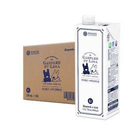연세우유 멸균우유 무항생제 우유 730ml x 8팩