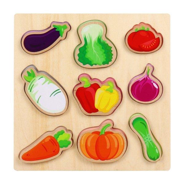 원목교구 야채놀이 퍼즐 상품이미지