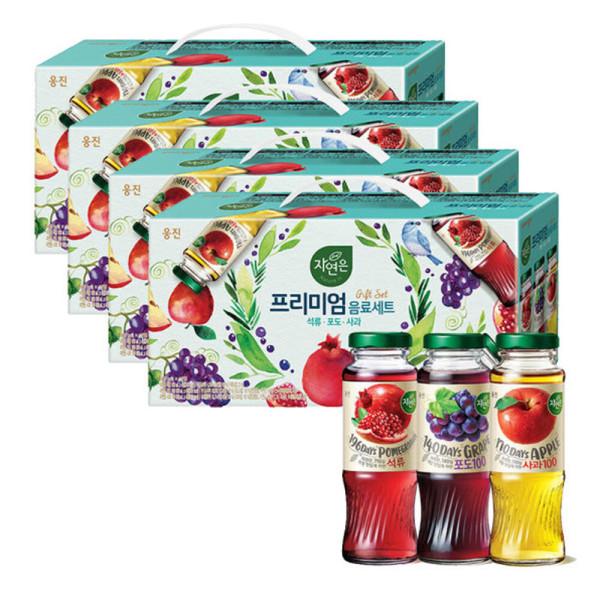 자연은 석류 포도 사과 (180 12병) 2박스 상품이미지