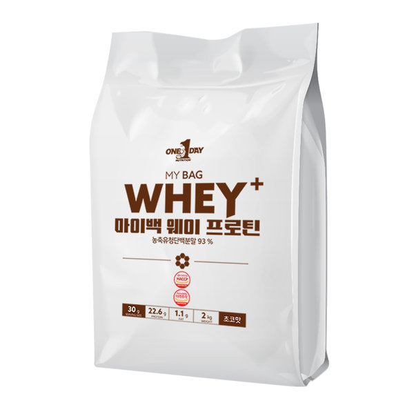 단백질 헬스보충제 웨이프로틴 포대유청 wpc초코맛 2kg 상품이미지