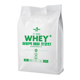 단백질 헬스보충제 웨이프로틴 포대유청 wpc녹차맛 2kg