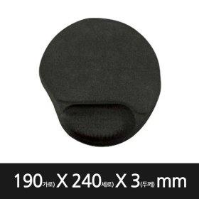 칼론OKP-3000 마우스패드 젤패드 미끄럼방지 손목보호