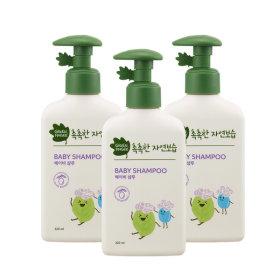 그린핑거 촉촉한자연보습 샴푸 320mlX3개/유아