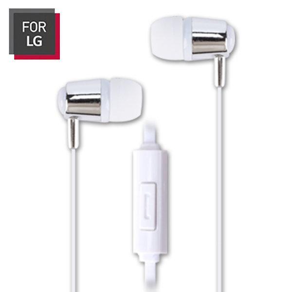 FOR LG LGC-AEP08 칼국수 이어폰 마이크내장 화이트 상품이미지