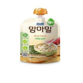 (2+1)매일유업_맘마밀안심이유식미역과소고기9개월_100G