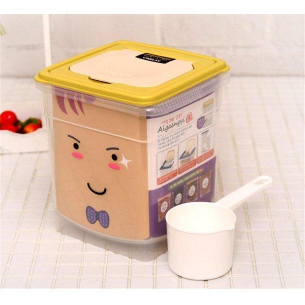 씨밀렉스스마일잡곡통알갱이/3.8L-씨리얼보관용기 쌀 상품이미지
