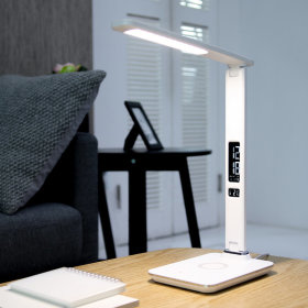 무선충전 시계 LED 스탠드