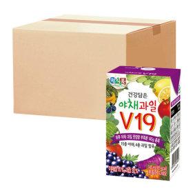 베지밀 건강담은 야채과일 V19 145ml  48팩